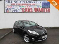 2012 Ford Fiesta 1.4 ( 96ps ) auto Zetec, ONLY 9239 MILES FROM NEW