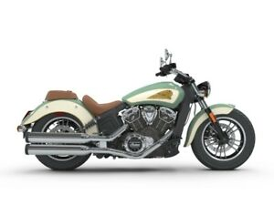 2018 Indian Motorcycle Scout ABS Willow Green / Ivory Cream / Go