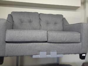 *** USED *** ASHLEY BRINDON CHARCOAL SOFA/LOVE   S/N:51244900   #STORE203