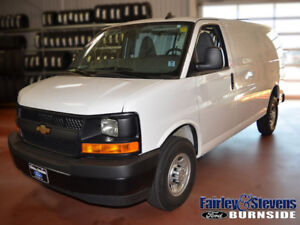 2017 Chevrolet Express Cargo Van with 39,000kms