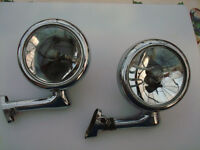 Vintage Dummy Teardrop Spotlights
