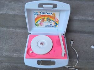 Vintage Care Bears Record Player LIKE NEW!