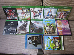 XBOX ONE GAMES&MOVIES