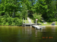 Boat Access Camp For Sale - Agnew Lake