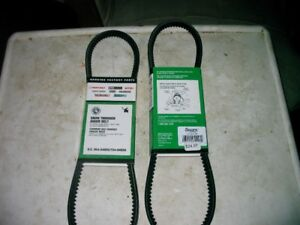 BRAND NEW SNOW THROWER AUGER BELTS