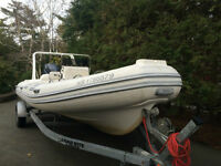 2005 DL 20 Caribe Inflatable