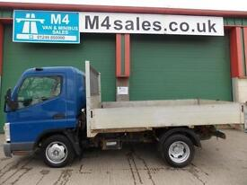 Mitsubishi Canter 35 SWB TD Tipper new tipper body being fitted