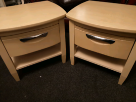 Bed side table (pair)