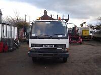1998 DAF45 7.5T PEU/ Crane Wagon/ Mobile Drilling Rig