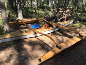 Beautiful Wooden Kayak (with a Trimaran Attachment for Sailing)