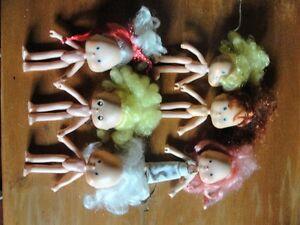 Fraisinettes minis poupées de collection vintage
