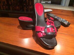 Calvin Klein Red Sandals