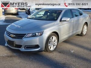 2018 Chevrolet Impala LT  sophisticated design and a refined int