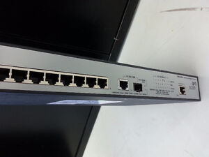 quiet 8 port Gigabit POE switch Layer 2 managed