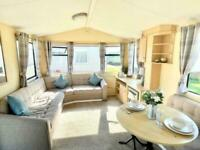 Cheap Static Caravan on North West Coast Line