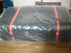 Futon and futon frame