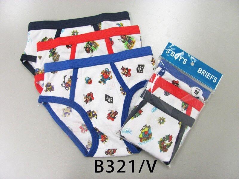 3 6 12 Boy/'s Soft Cotton Briefs Solid Whites Colors SCWU Lot NEW Underwear S~XL
