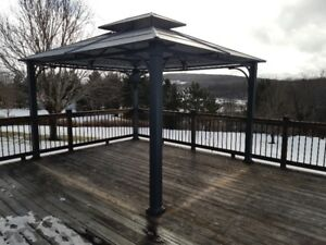 Gazebo - New Condition.Walls and Screen not yet installed (new)