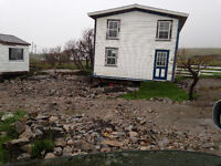 Land and old house for sale in Greenspond.