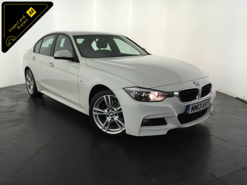 2013 BMW 320D M SPORT 4 DOOR SALOON 184 BHP 1 OWNER BMW SERVICE HISTORY FINANCE