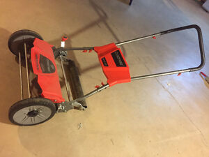 Manual Push Motor, Troy Built, 18 inches
