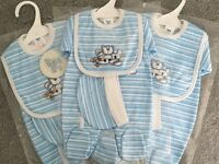 Baby Boys 3 Piece Gift Sets