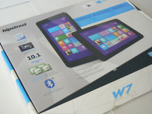 "hipstreet 7"" Quad Core 16gb SSD Dual Cameras Windows 10 ready"
