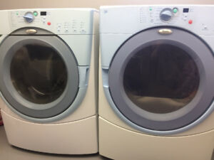 Whirlpool Duet front loading washer & dryer