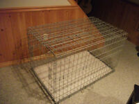 Foldable Large Wire Dog Crate
