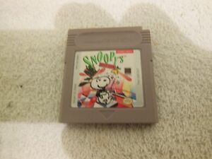 NINTENDO GAME BOY SNOOPY'S MAGIC SHOW game