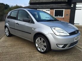 2005 Ford Fiesta 1.25 Zetec**Low Miles**New Clutch**Lovely example**
