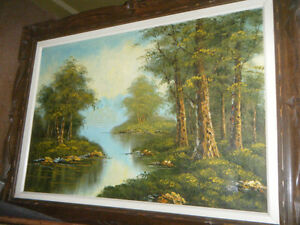 SCENIC OIL PAINTING Kawartha Lakes Peterborough Area image 2