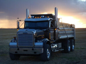 Freightliner Classic FLD 120SD Heavy Spec,Loaded.Dump truck.