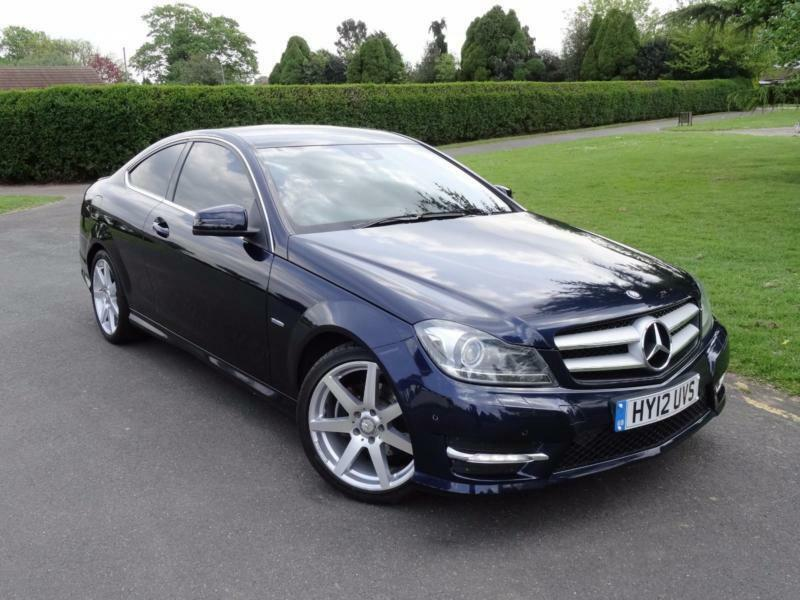 mercedes c class c220 cdi blueefficiency amg sport coupe 2012 12 in redbridge london gumtree. Black Bedroom Furniture Sets. Home Design Ideas