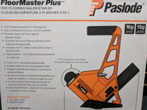 Paslode F2N1 200 2 in 1 flooring nailer brand new in box