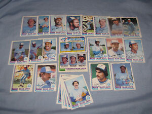 1982 Blue Jays O-Pee-Chee team set