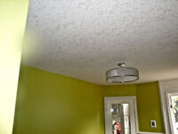DRYWALL TAPING,   TEXTURED CEILINGS