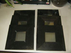 Six Ikea Malma mirrors - New in Package - $5 for all