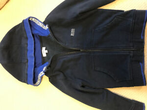 Hugo Boss boys sz 5 Hoodie - excellent condition