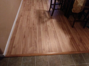 11 by 9 Laminated flooring