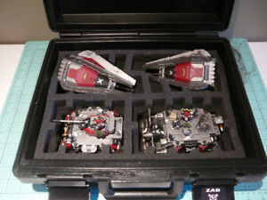 Warhammer 40k Space Marine Vehicles and Case
