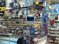 Retro games and consoles and great prices.