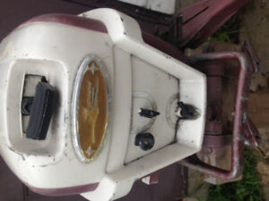 Older Johnson 18hp Outboard Motor