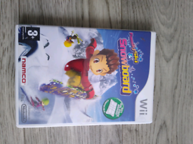 Wii game Family skin snowboard