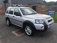 55 Land Rover Freelander 1.8 XEI 5 Door. Lovely condition. FSH. High spec.