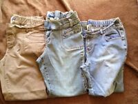 3 pairs Thyme maternity jeans