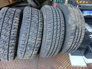 4 ALL SEASON TIRE WITH RIMS OFF VW GOLF 195/65/R15 90%