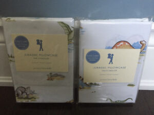 Pottery barn dinosaur pillow cases
