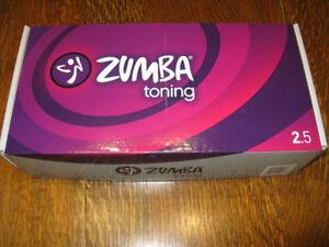 Zumba toning sticks 2.5 lbs
