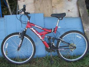 Men's Huffy Tundra 21-speed bike, hardly used